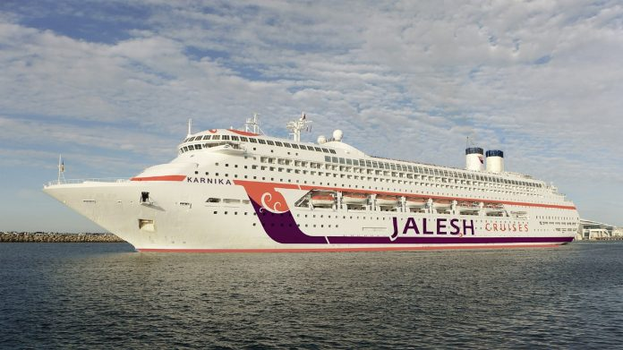 Jalesh Cruises announces the commencement of its cruise MV Karnika from Friday 6th November 2020