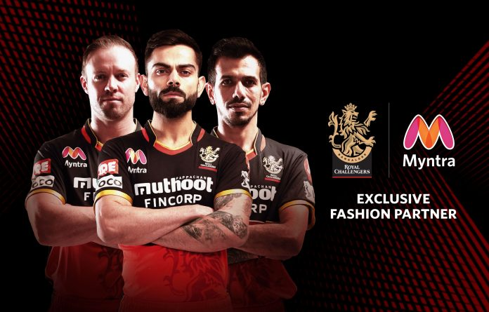 Myntra announces its partnership with Royal Challengers Bangalore (RCB), to be their exclusive fashion partners for the T20 cricketing event