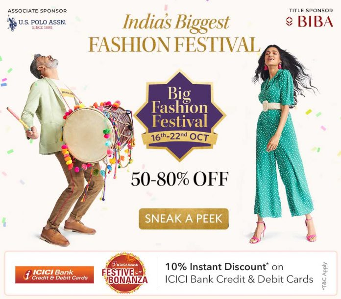 Myntra Big Fashion Festival