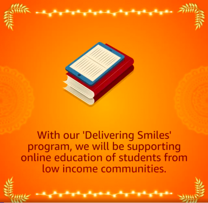 Amazon India Launches Delivering Smiles Program to Support the Education of Students From Marginalized Communities