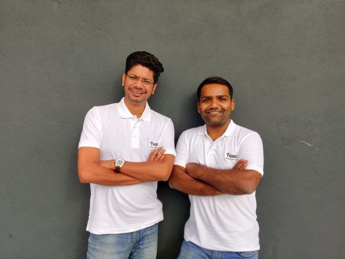 Co-founders of Fasal (L to R) : Shailendra Tiwari and Ananda Verma