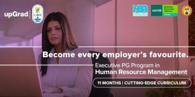 Executive PG Program in Human Resource Management