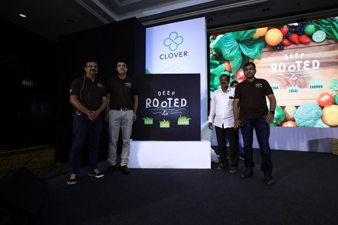 The 4 founders at the launch of Deep Rooted.Co today