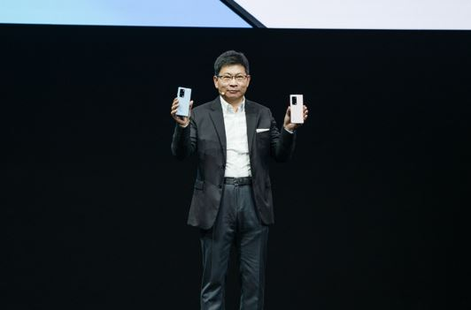 Mr. Richard Yu, Executive Director and Chief Executive Officer of Huawei Consumer BG announced the HUAWEI Mate X2