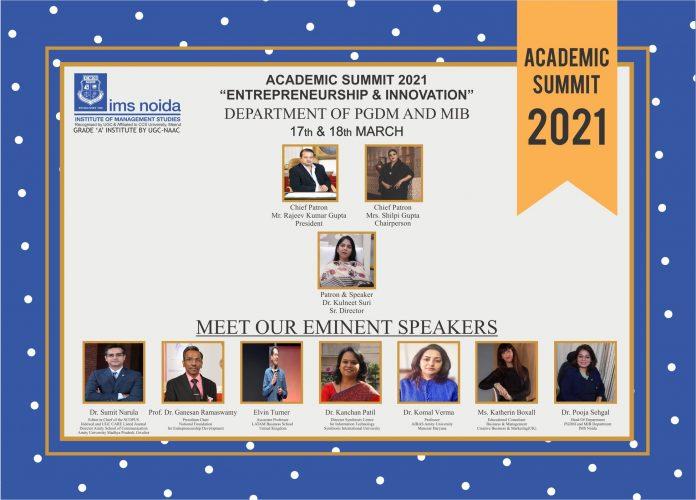 IMS Noida Organized an Academic Summit
