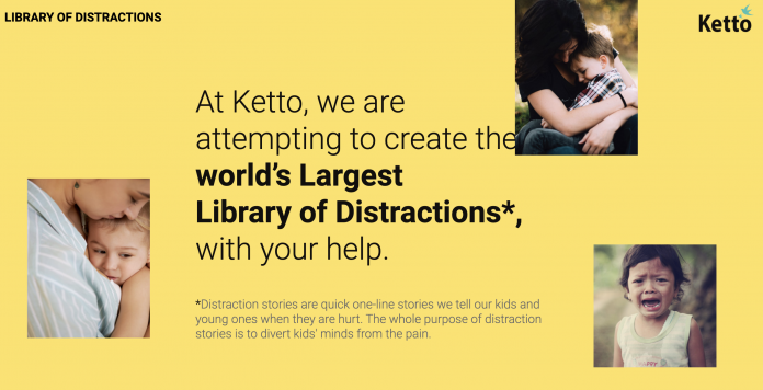 Ketto.org Launches 'Library of Distractions' Initiative