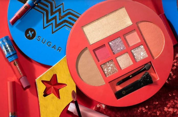 Cult-favourite Beauty Brand, SUGAR Cosmetics Launches First-ever Product Collaboration: SUGAR X WONDER WOMAN