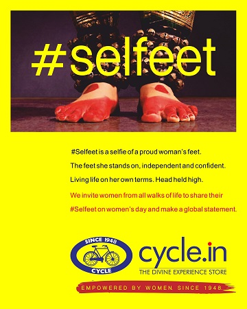 Cycle Pure Agarbathi Unveils #Selfeet Campaign Marking 7 Decades of Women Workforce