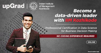 upGrad - IIM Kozhikode program