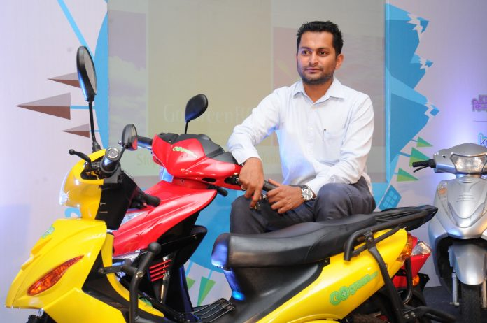 Dhivik Ashok, Founder & CEO of Go GreenBOV