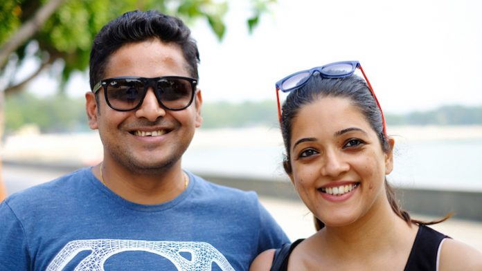 Pravin Shah and Shweta Shah, couple entrepreneur and Co-founders of The Pahadi Story