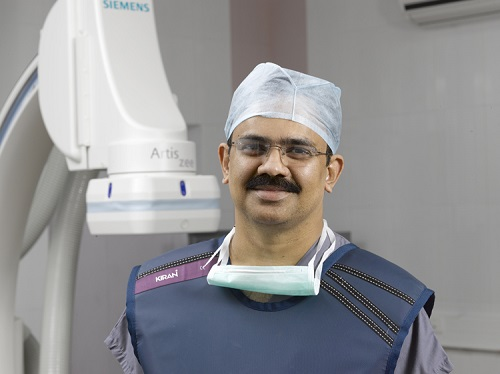 Dr. N. Prathap Kumar Successfully Performs Zero Contrast Angioplasty